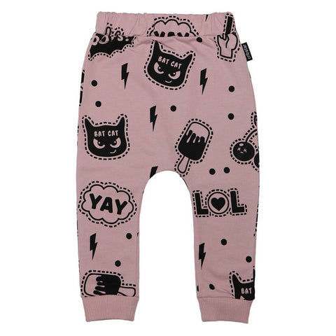 Super Bunny Repeat Harem Leggings