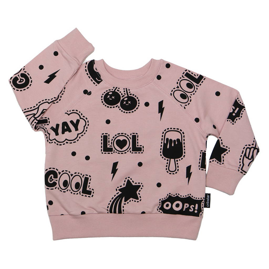 BAMBINISTA - CRIBSTAR - Tops - Patches Sweatshirt