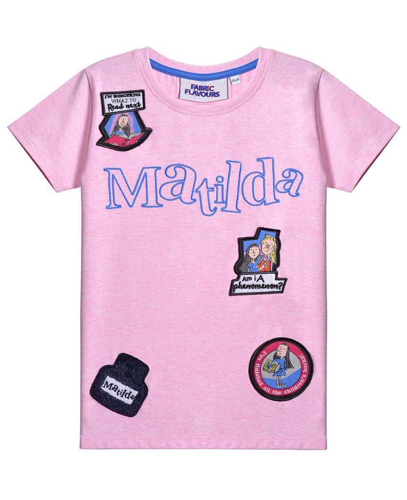 Bambinista - FABRIC FLAVOURS -Tops - Matilda Badge Tee (ST)