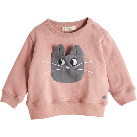 Frenchie Applique Long Sleeve Top