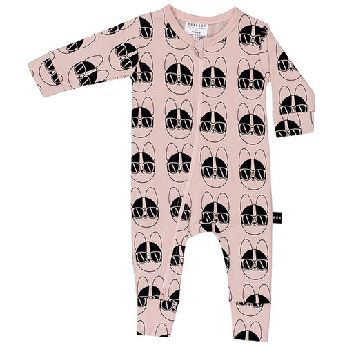 HUXBABY - French Shades Zip Romper - Rompers - Bambinista