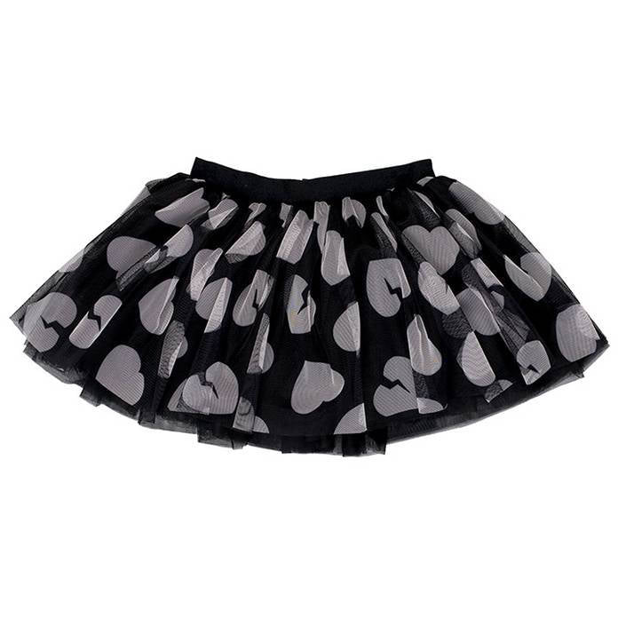 BAMBINISTA - HUXBABY - Bottoms - Heart Tutu Tulle Skirt