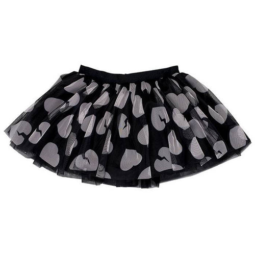 Bambinista - HUXBABY -Bottoms - Heart Tutu Tulle Skirt