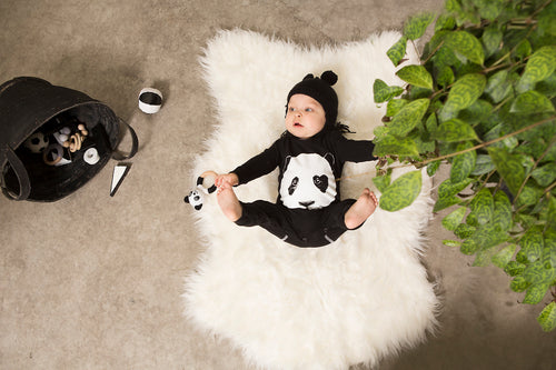 BAMBINISTA - LUCKY NO. 7 - Rompers - Panda Romper