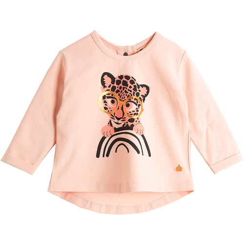 BAMBINISTA - THE BONNIE MOB - Tops - Krazy Long Sleeve T-Shirt Pink