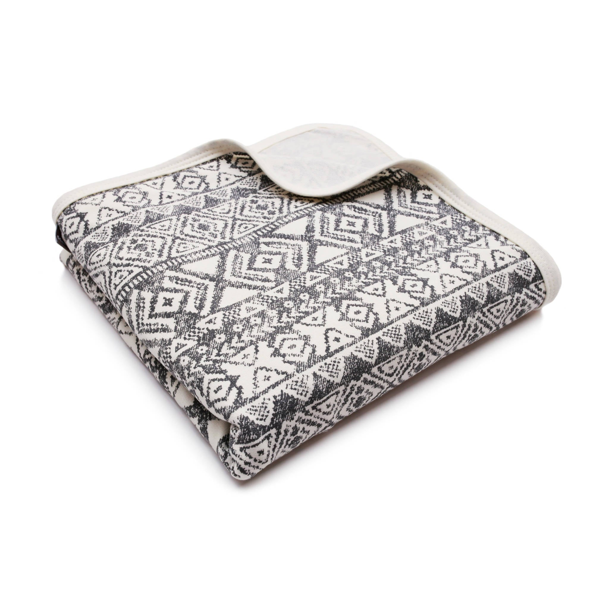PULP - Bamboo Hooded Swaddle Blanket / Towel Aztec - Blankets - Bambinista