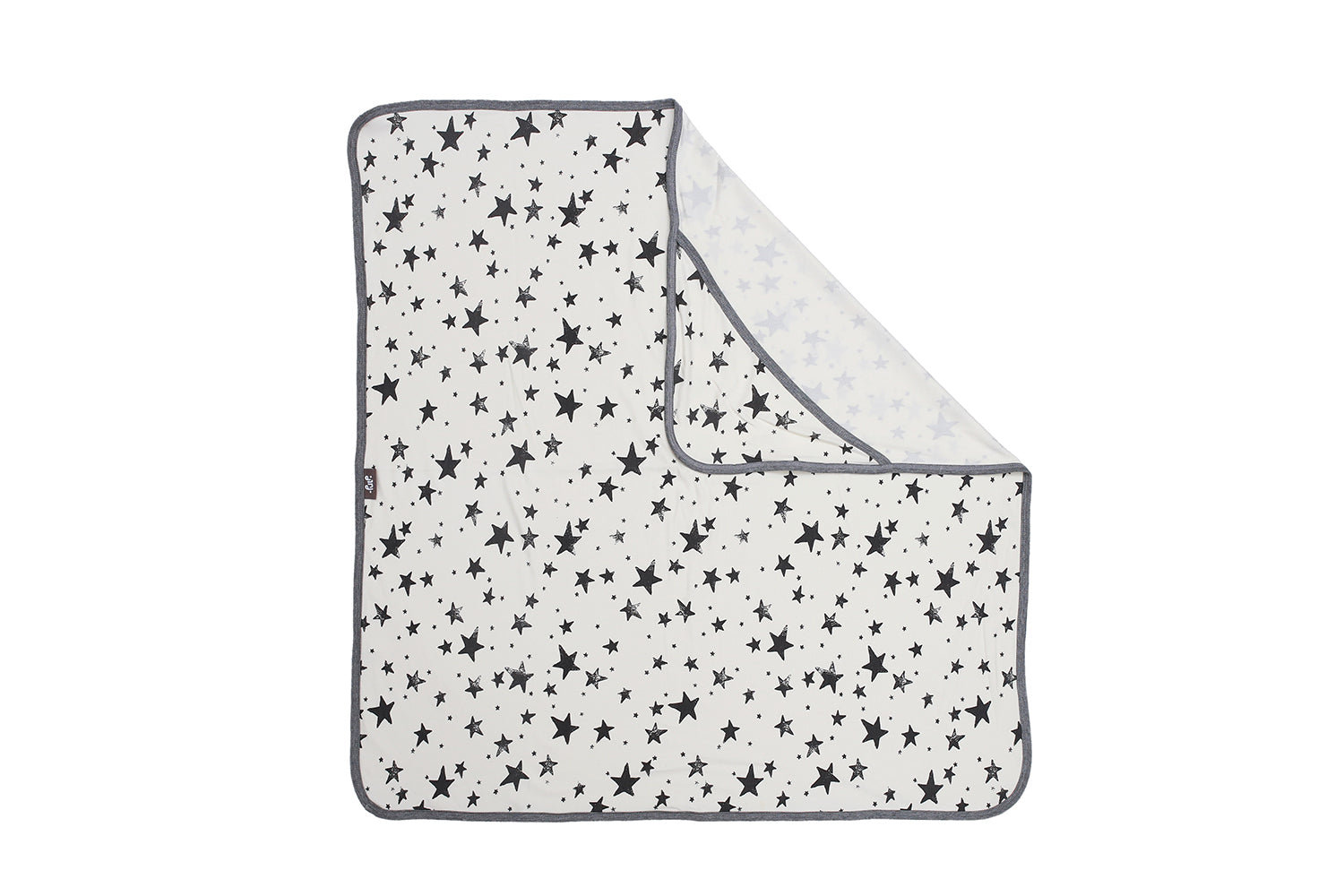 PULP - Bamboo Hooded Swaddle Blanket / Towel Stars - Blankets - Bambinista