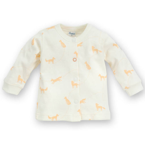 Bambinista - PINOKIO -Tops - Smart Fox Baby Cardigan