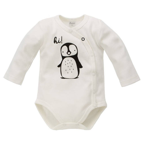 BAMBINISTA - PINOKIO - Onesies - Happy Days Long Sleeve Wrap Bodysuit