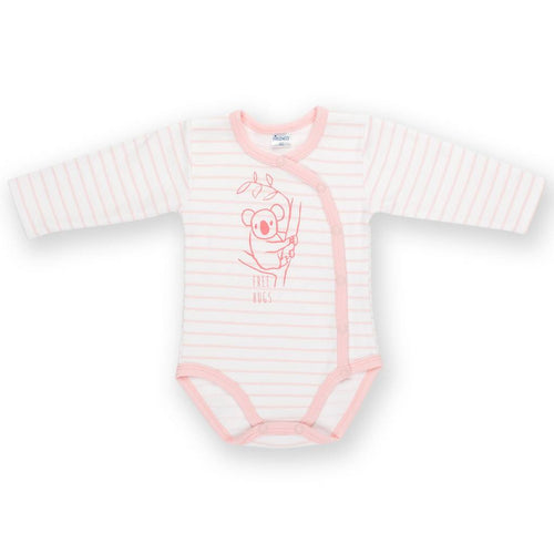 Bambinista - PINOKIO -Onesies - Happy Kids Long Sleeve Wrap Bodysuit Koala