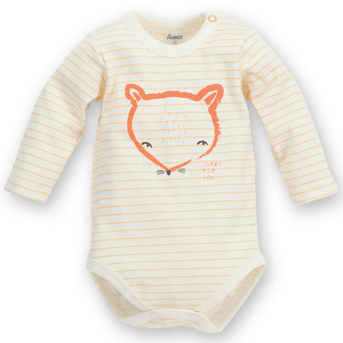 Bambinista - PINOKIO -Onesies - Smart Fox Long Sleeve Bodysuit Fox