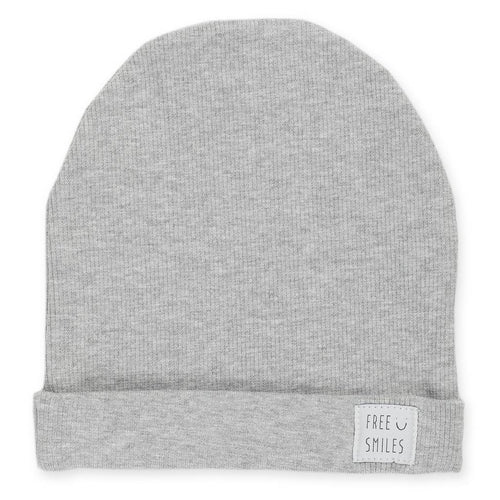 BAMBINISTA - PINOKIO - Hats - Happy Kids Beanie Oversized Grey