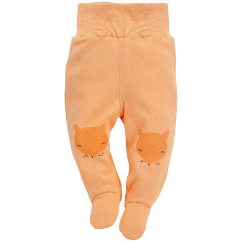 BAMBINISTA - PINOKIO - Bottoms - Smart Fox Sleep Pants Orange