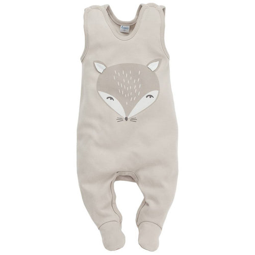 Bambinista - PINOKIO -Pyjamas - Smart Fox Sleep Suit Beige