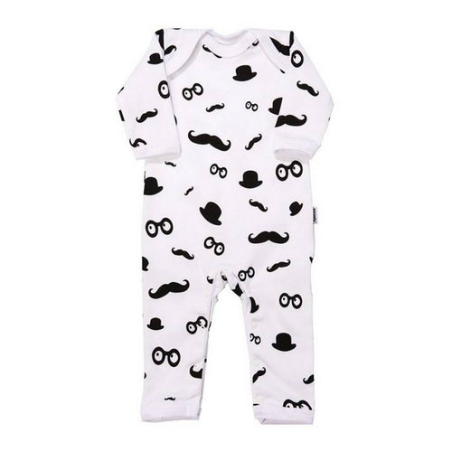 BAMBINISTA - SNUGLO - Rompers - Romper Moustache Pattern
