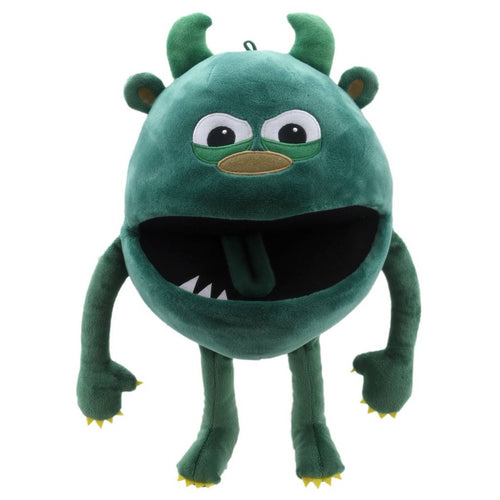 Baby Monster Puppet Green