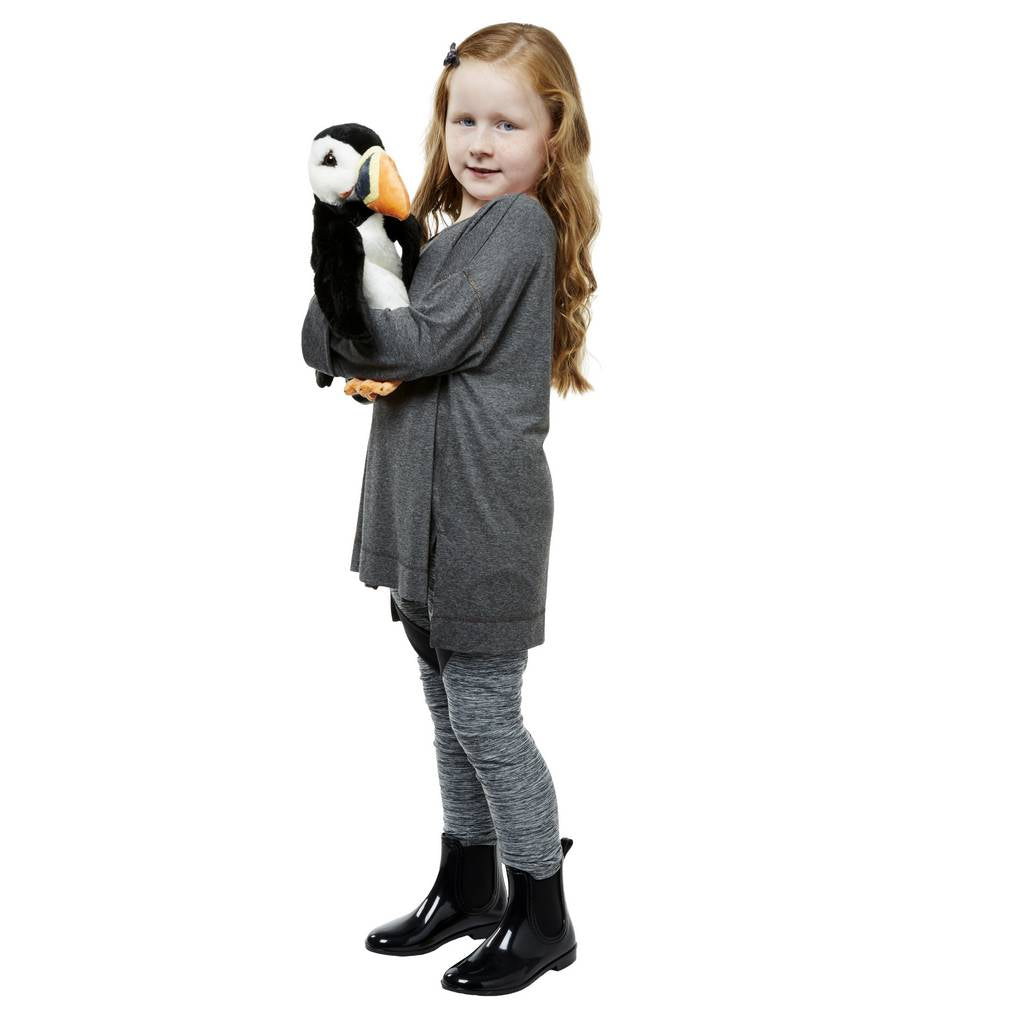 BAMBINISTA - THE PUPPET COMPANY - Toys - Long Sleeved Glove Puppet Puffin