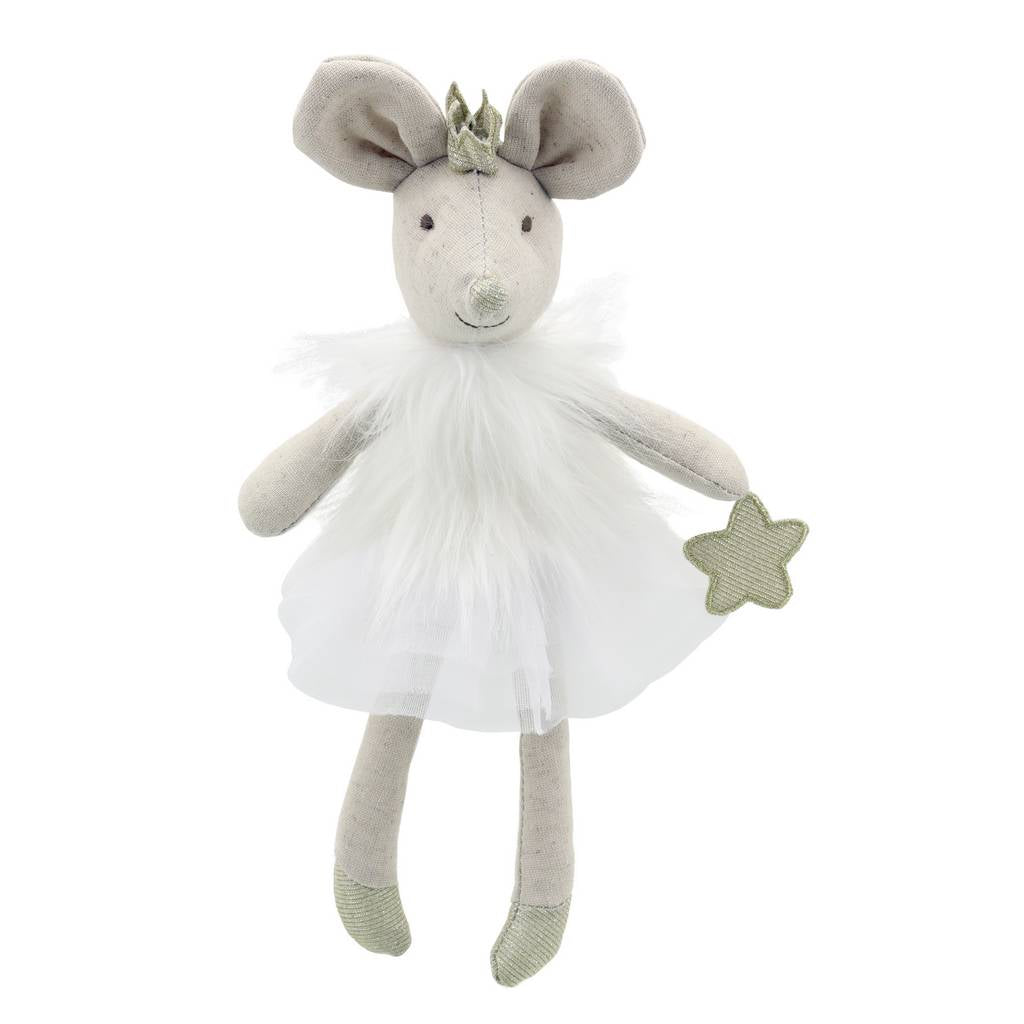 BAMBINISTA - WILBERRY - Toys - Wilberry Dancers Mouse White