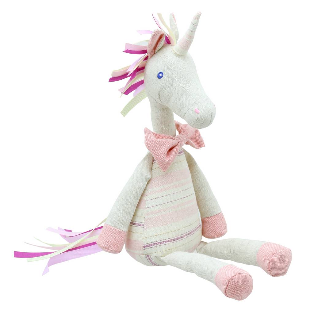 BAMBINISTA - WILBERRY - Toys - Wilberry Linen Unicorn Pink