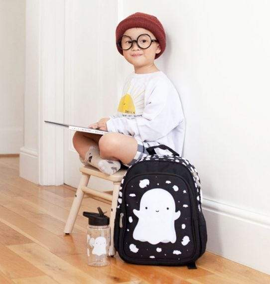 Bambinista-A LITTLE LOVELY COMPANY-Accessories-Backpack Ghost