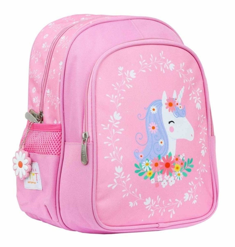Bambinista-A LITTLE LOVELY COMPANY-Accessories-Backpack Unicorn Insulated
