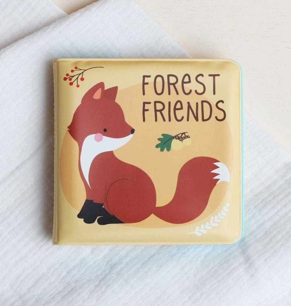 Bambinista-A LITTLE LOVELY COMPANY-Toys-Bath Book Forest Friends
