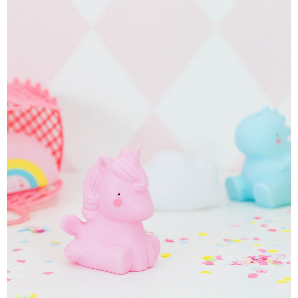 Bambinista-A LITTLE LOVELY COMPANY-Toys-Bath Toy Unicorn