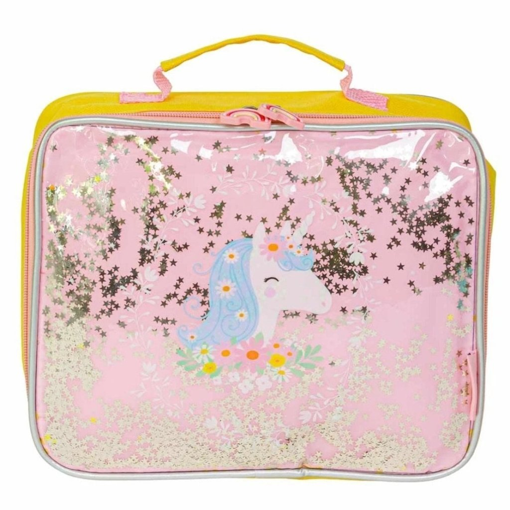 Bambinista-A LITTLE LOVELY COMPANY-Tablewear-Cool Bag Glitter unicorn
