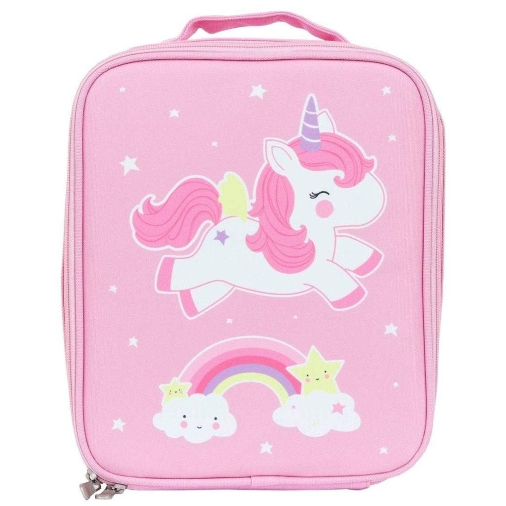 Bambinista-A LITTLE LOVELY COMPANY-Tablewear-Cool Bag Unicorn