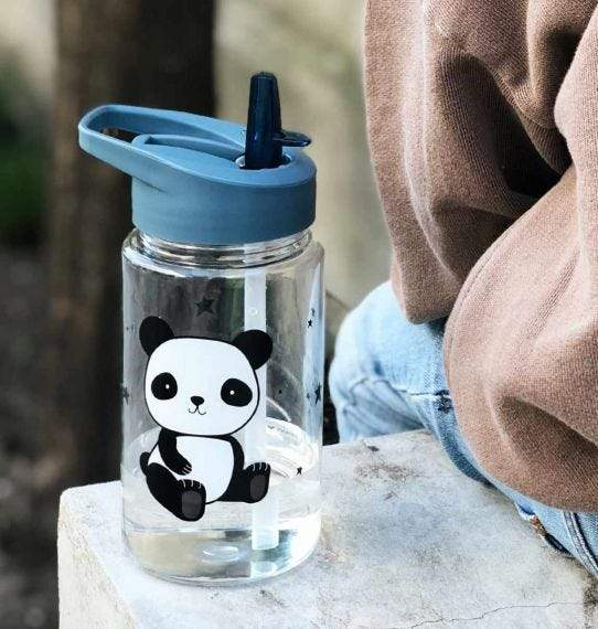 Bambinista-A LITTLE LOVELY COMPANY-Tablewear-Drink Bottle Panda