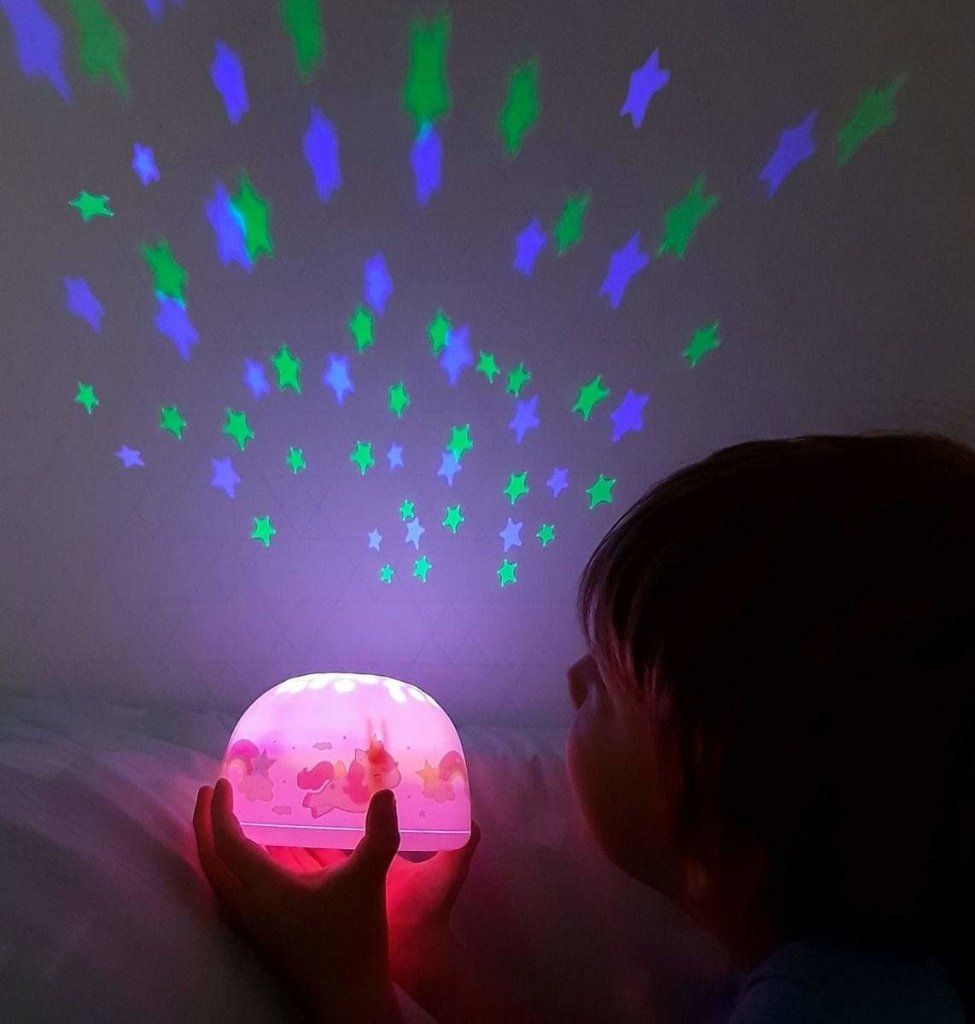 Bambinista-A LITTLE LOVELY COMPANY-Decor-Projector Light Unicorn