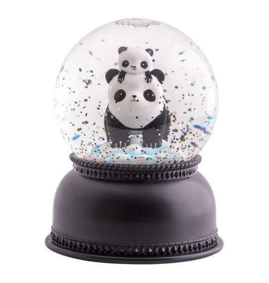 Bambinista-A LITTLE LOVELY COMPANY-Gifts-Snowglobe Light Panda