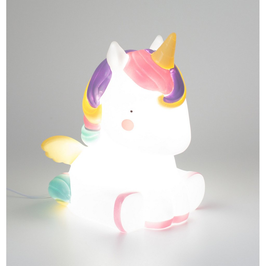Bambinista-A LITTLE LOVELY COMPANY-Toys-Table Light Unicorn - NO BOX