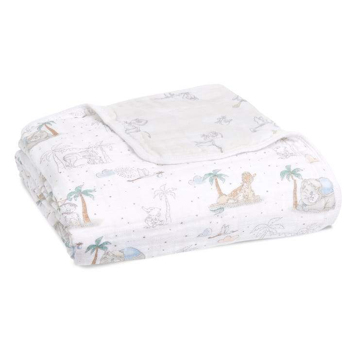 Bambinista-ADEN + ANAIS-Blankets-Cotton Muslin Dream Blanket My Darling Dumbo