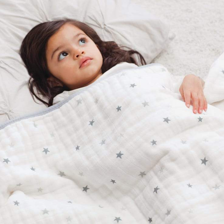 Bambinista-ADEN + ANAIS-Blankets-Cotton Muslin Dream Blanket Twinkle