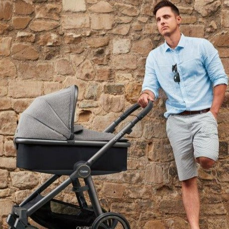Bambinista-BABY STYLE-Travel-Oyster 3 Carrycot - Pepper