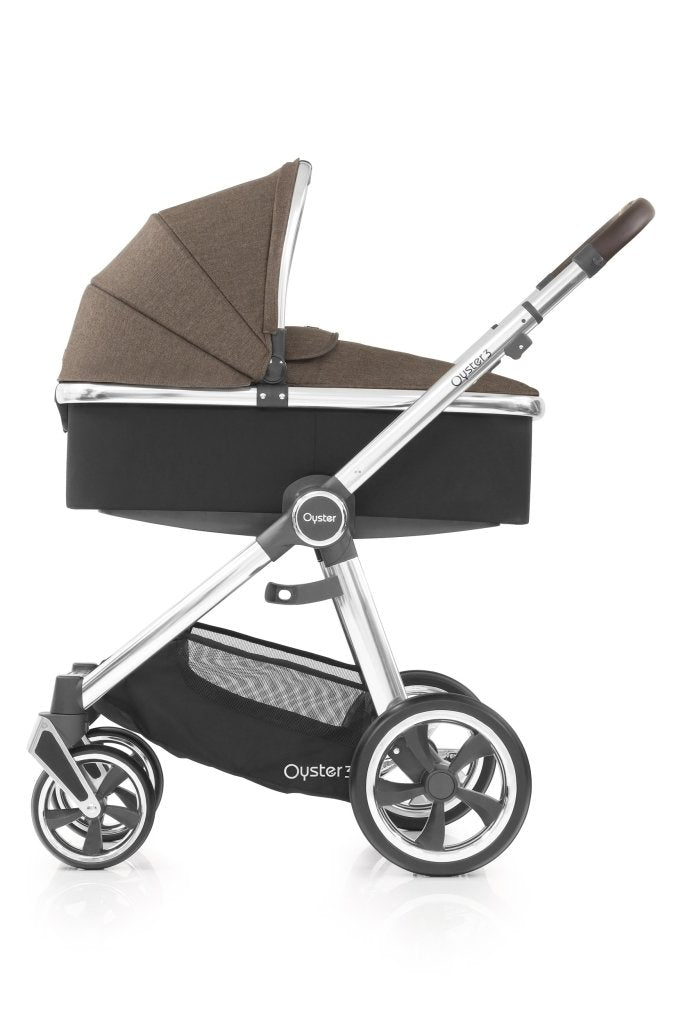 Bambinista-BABY STYLE-Travel-Oyster 3 Carrycot - Truffle