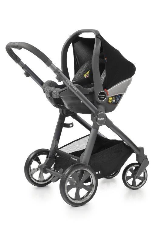 Bambinista-BABY STYLE-Travel-Oyster 3 Essential Package (5 Piece) - Manhattan / City Grey Chassis