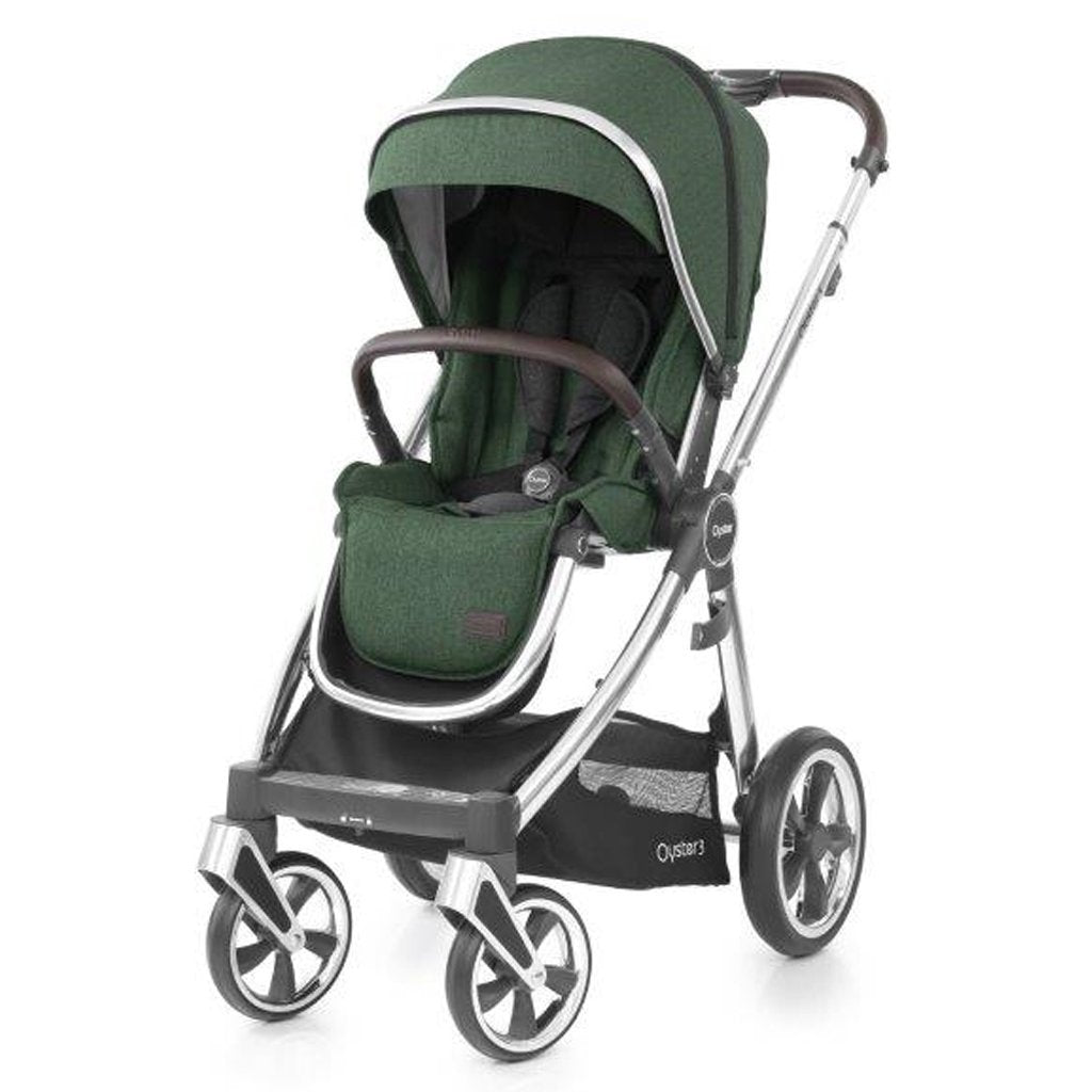Bambinista-BABY STYLE-Travel-Oyster 3 Stroller - Alpine Green