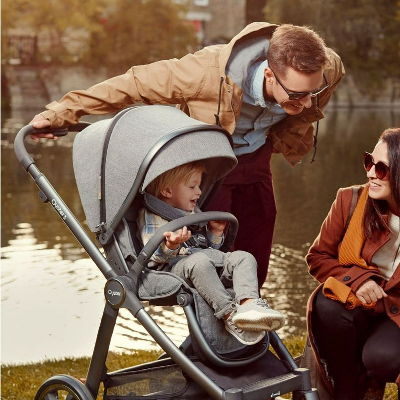Bambinista-BABY STYLE-Travel-Oyster 3 Stroller - Mercury (Mirror)