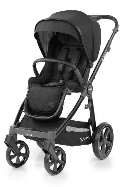 Bambinista-BABY STYLE-Travel-Oyster 3 Stroller - Noir (Black Chassis)