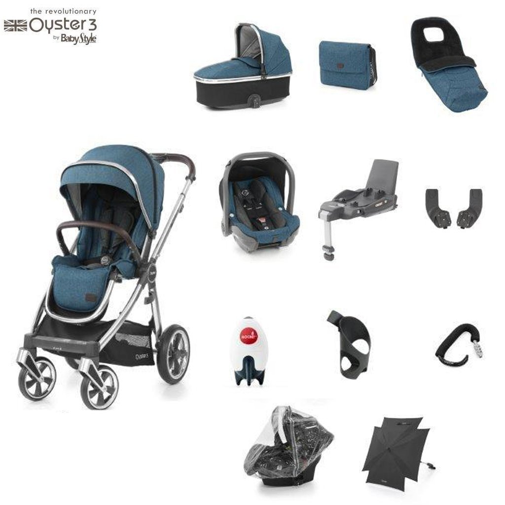 Bambinista-BABY STYLE-Travel-Oyster 3 Ultimate Package (12 Piece) - Regatta
