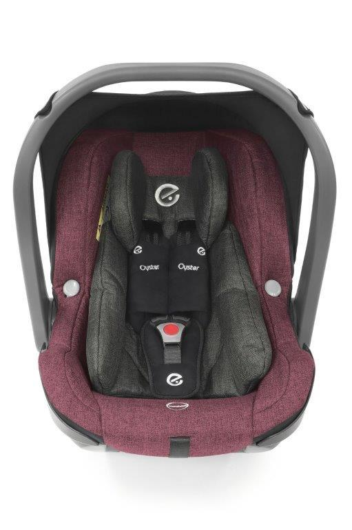 Bambinista-BABY STYLE-Travel-Oyster Capsule (i-Size) Car Seat - Berry