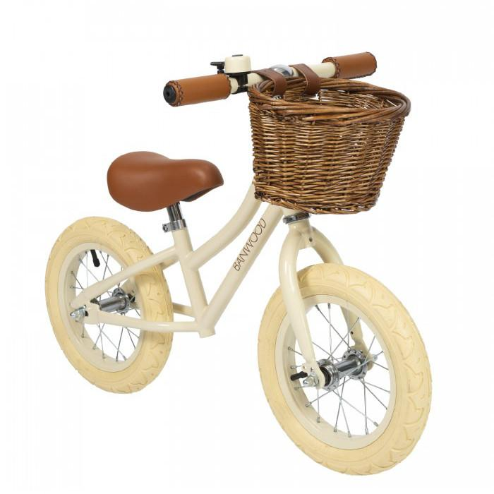 "Bambinista-BANWOOD-Toys-FIRST GO! Balance Bike 12"" Cream"