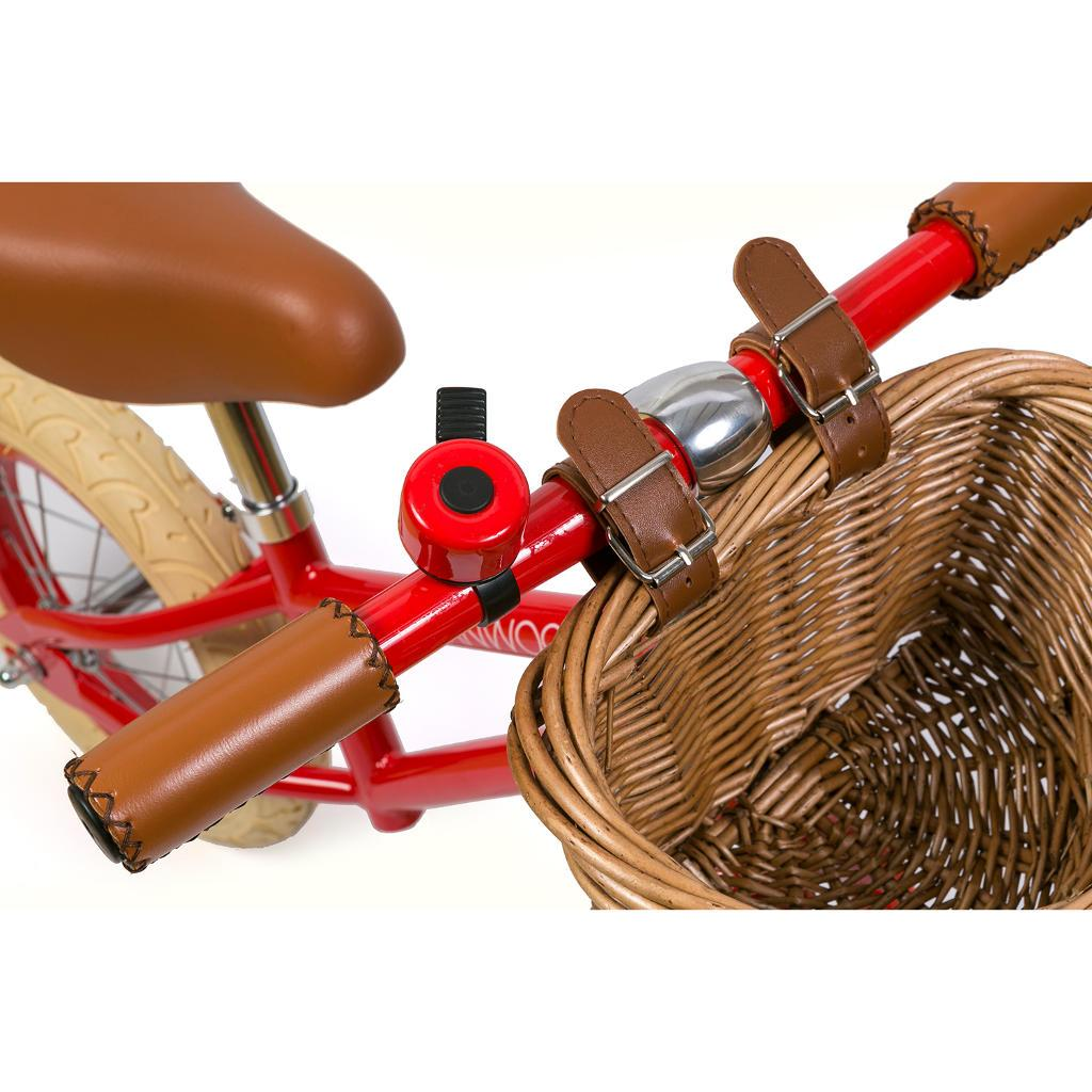 "Bambinista-BANWOOD-Toys-FIRST GO! Balance Bike 12"" Red"