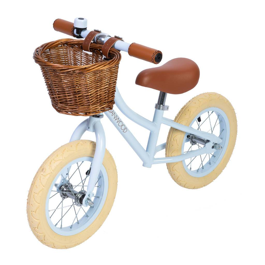 "Bambinista-BANWOOD-Toys-FIRST GO! Balance Bike 12"" Sky - Home Delivery"