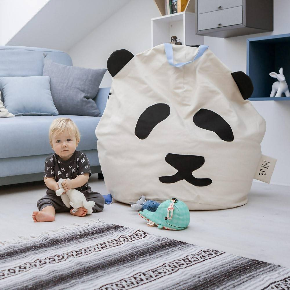 Bambinista-BINI-Furniture-Pouffe Giant Panda