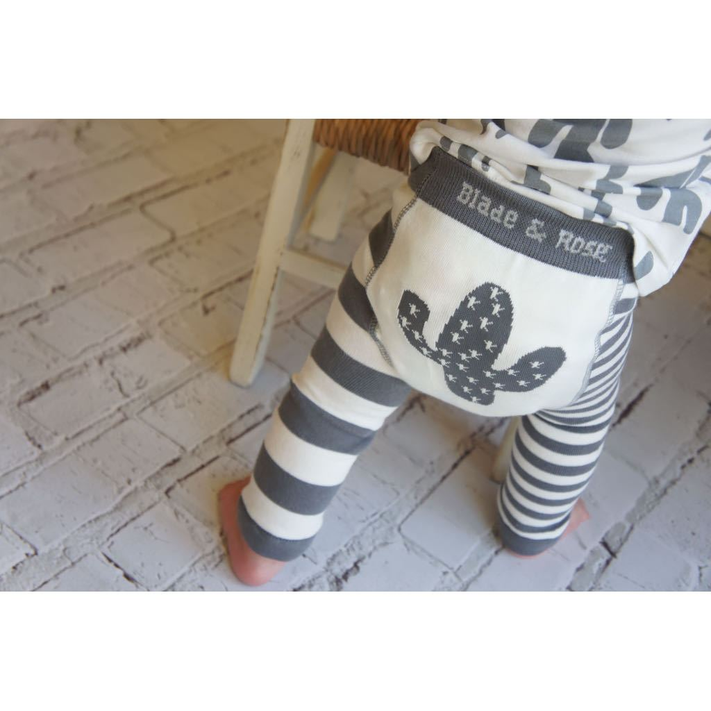 Bambinista-BLADE & ROSE-Bottoms-Leggings Cactus