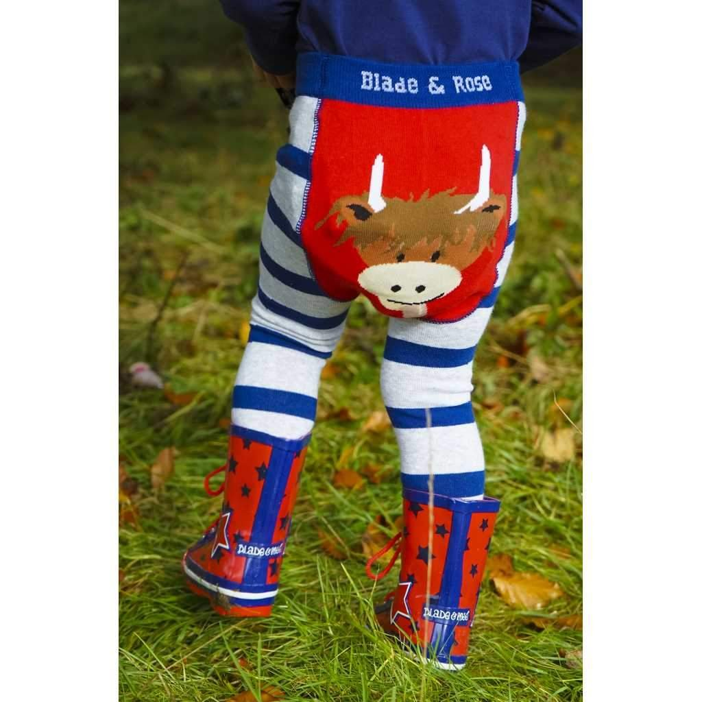 Bambinista-BLADE & ROSE-Bottoms-Leggings Highland Cow