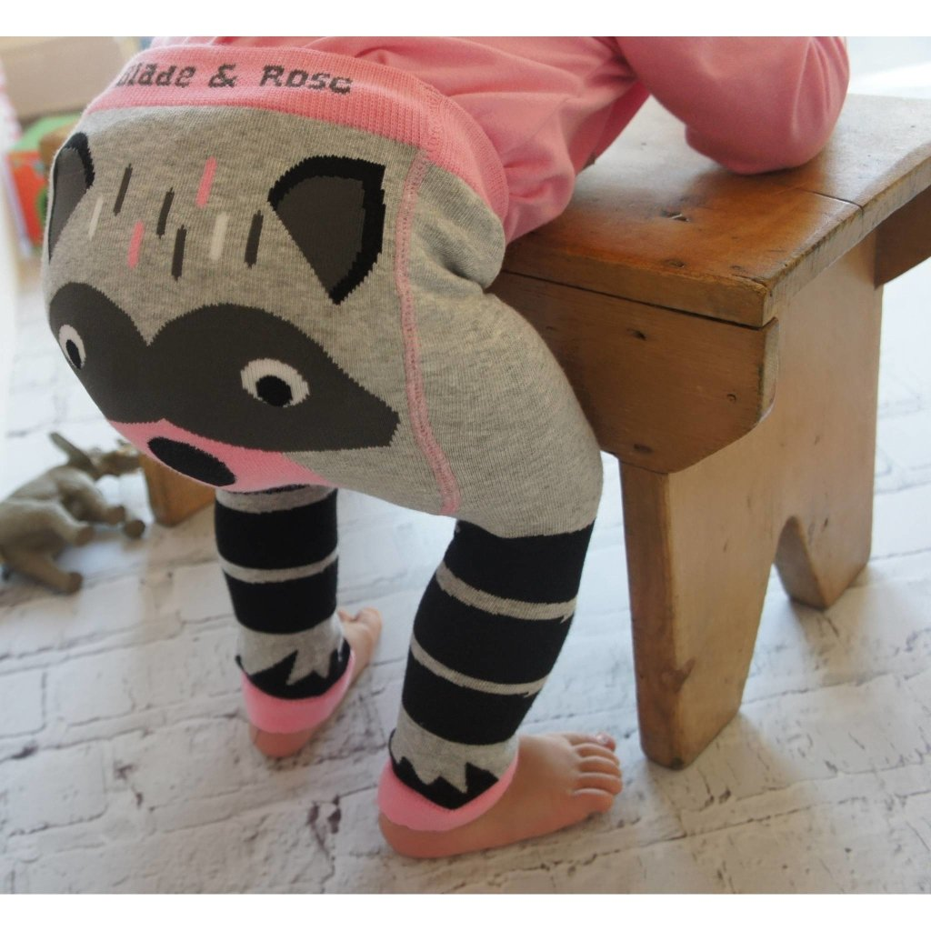 Bambinista-BLADE & ROSE-Bottoms-Leggings Raccoon